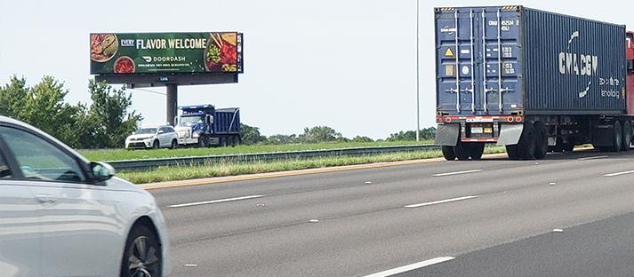 Tampa, Florida Outdoor Digital Billboards