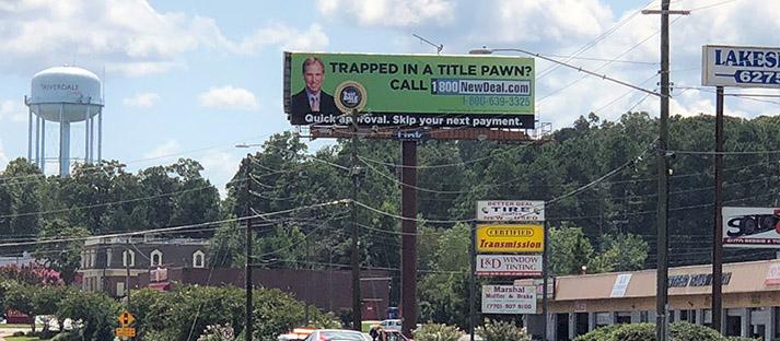 Atlanta, Georgia Billboard Advertising