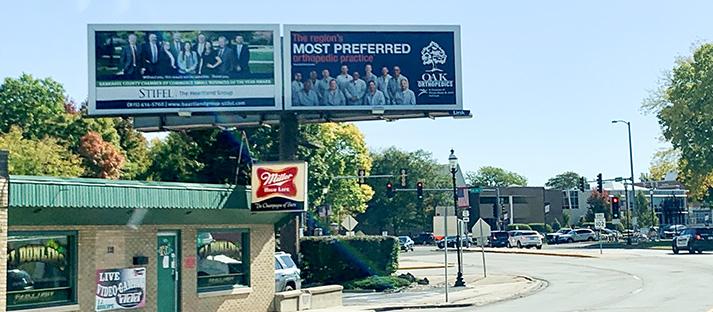 Kankakee, Illinois billboards