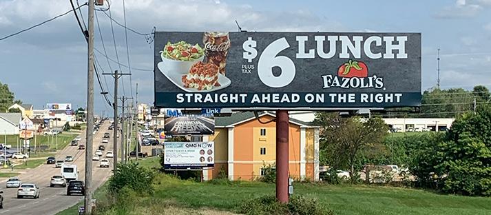 Iowa Quincy Billboards