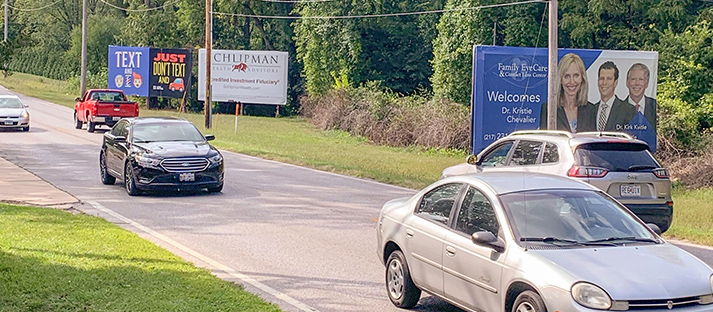 Quincy, Illinois & Iowa Billboards